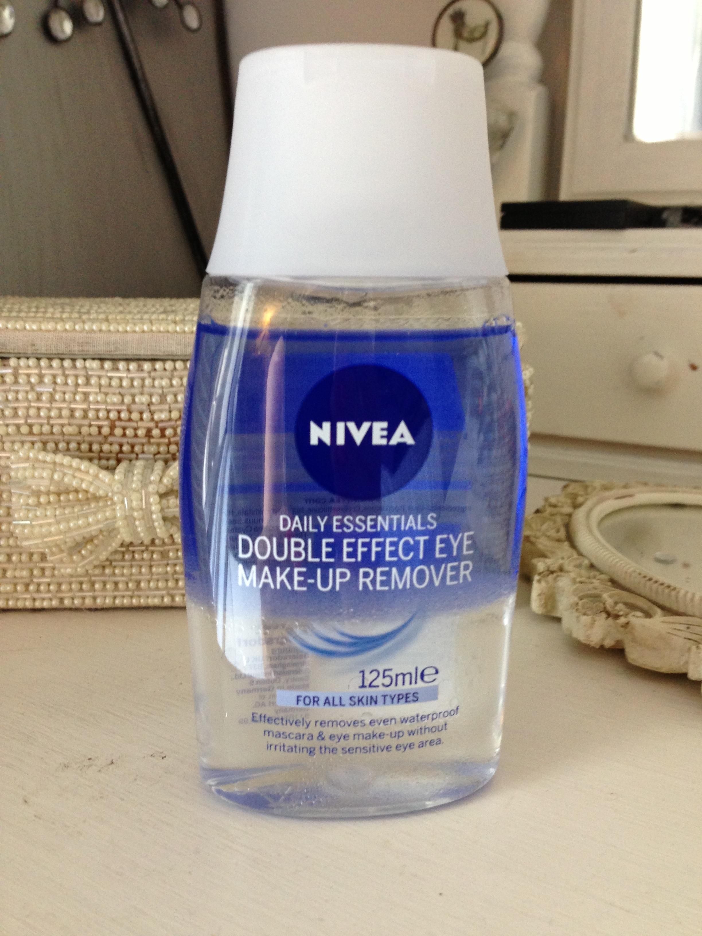 Nivea Double Effect Eye Make Up Remover Secondblonde